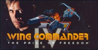 Логотип Wing Commander IV: The Price of Freedom