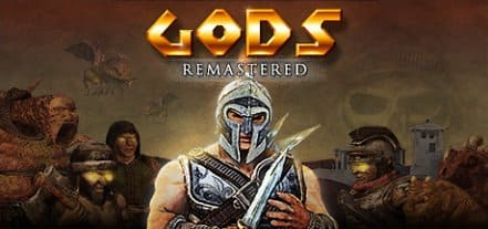 Логотип GODS Remastered