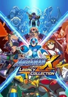 Постер Mega Man X Legacy Collection