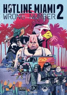 Постер Hotline Miami 2: Wrong Number