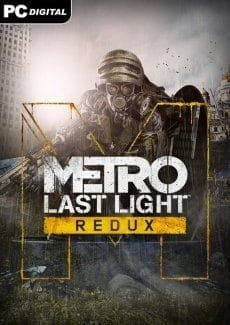 Постер Metro Last Light Redux