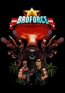 Постер Broforce