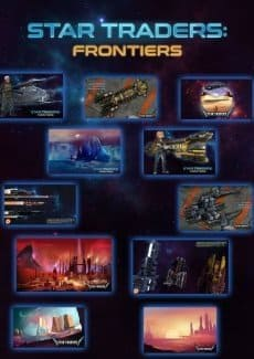 Постер Star Traders Frontiers