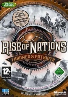 Постер Rise of Nations: Thrones and Patriots