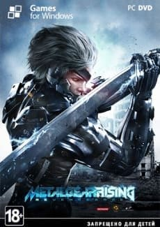 Постер Metal Gear Solid: Rising