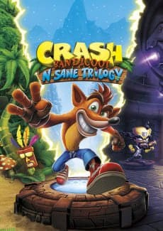 Постер Crash Bandicoot N. Sane Trilogy