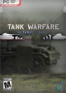 Постер Tank Warfare Tunisia 1943