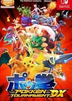 Постер Pokken Tournament DX