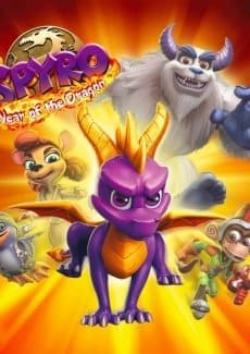 Постер Spyro 3 - Year of the Dragon