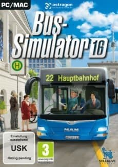 Постер Bus Simulator 16