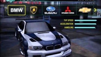 Скриншот второй из Need for Speed Carbon