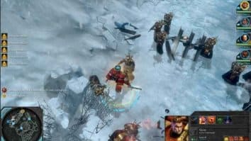 Скриншот второй из Warhammer 40,000 Dawn of War 2 Chaos Rising