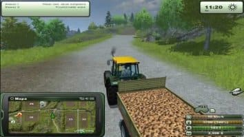 Скриншот второй из Farming Simulator 2013