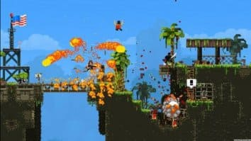 Скриншот второй из Broforce