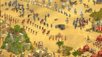 Скриншот второй из Rise of Nations: Thrones and Patriots