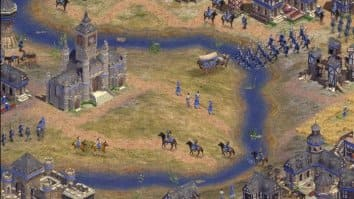 Скриншот первый из Rise of Nations: Thrones and Patriots