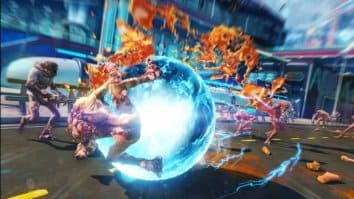 Скриншот второй из Sunset Overdrive