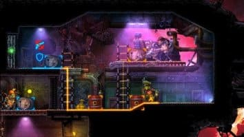 Скриншот второй из SteamWorld Heist