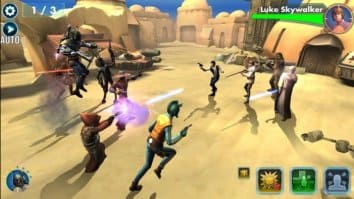 Скриншот второй из Star Wars: Galaxy of Heroes