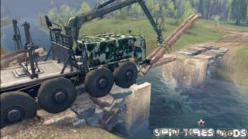 Скриншот четвёртый из SpinTires Level Up - Autumn