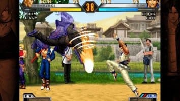 Скриншот второй из The King of Fighters 2002: Unlimited Match