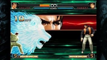 Скриншот третий из The King of Fighters 2002: Unlimited Match