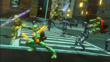 Скриншот первый из Teenage Mutant Ninja Turtles: Mutants in Manhattan
