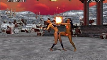 Скриншот второй из Bikini Karate Babes 2: Warriors of Elysia