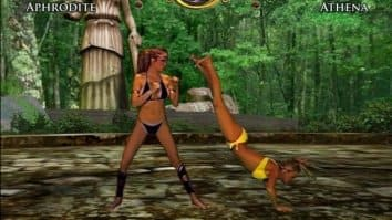 Скриншот четвёртый из Bikini Karate Babes 2: Warriors of Elysia