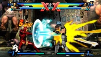 Скриншот второй из ULTIMATE MARVEL VS. CAPCOM 3