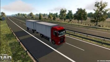 Скриншот второй из On The Road - The Real Truck Simulator