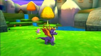 Скриншот второй из Spyro 3 - Year of the Dragon