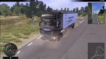 Скриншот второй из Scania Truck Driving Simulator - The Game