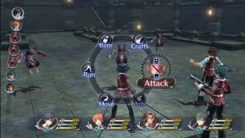 Скриншот первый из The Legend of Heroes Trails of Cold Steel 2