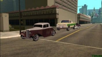 Скриншот четвёртый из Grand Theft Auto San Andreas Real Cars