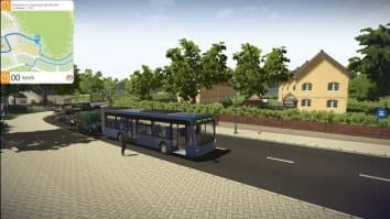 Скриншот второй из Bus Simulator 16