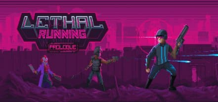 Логотип Lethal Running: Prologue