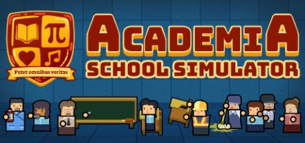 Логотип Academia : School Simulator
