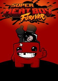 Постер Super Meat Boy Forever
