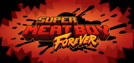 Логотип Super Meat Boy Forever