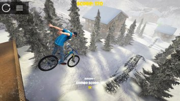 Скриншот второй из Shred! 2 - Freeride Mountainbiking