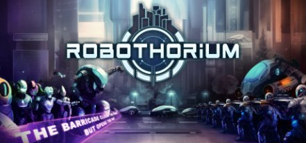 Логотип Robothorium: Sci-fi Dungeon Crawler
