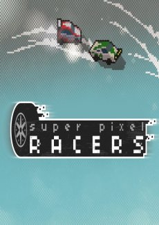 Постер Super Pixel Racers