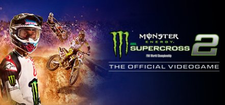 Логотип Monster Energy Supercross - The Official Videogame 2