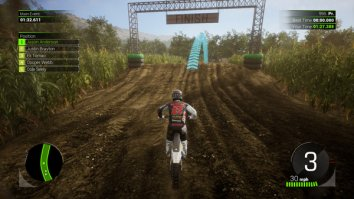 Скриншот второй из Monster Energy Supercross - The Official Videogame 2