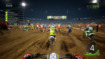 Скриншот четвёртый из Monster Energy Supercross - The Official Videogame 2