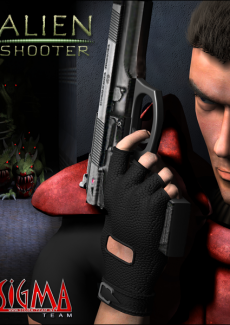 Постер Alien Shooter