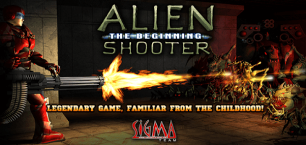 Логотип Alien Shooter