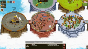 Скриншот второй из Circle Empires: Rivals