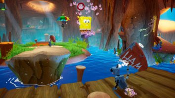 Скриншот второй из SpongeBob SquarePants: Battle for Bikini Bottom – Rehydrated